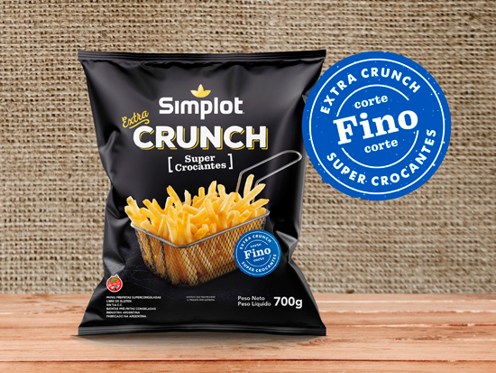 Extra Crunch Corte Fino Simplot