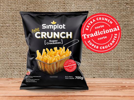 Extra Crunch Corte Tradicional Simplot