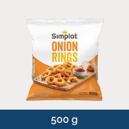 Simplot Onion Rings 500g